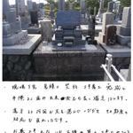 洋型石碑/リフォーム