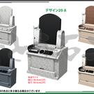 参考デザインーデザイン墓石